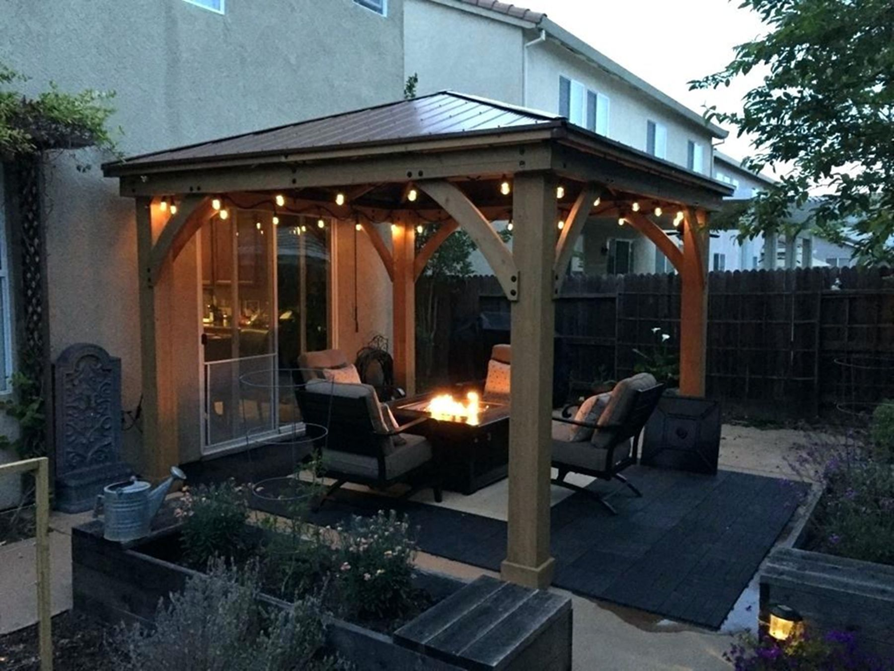 12 Extraordinary Gazebo Design Ideas For Places To Gather With Families Backyard Backyard Gazebo Patio Gazebo