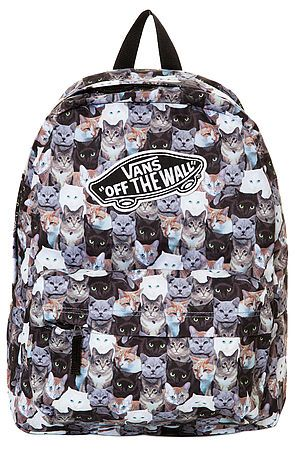 2ae7383a92359 The Vans x Aspca Realm Cat Backpack by Vans