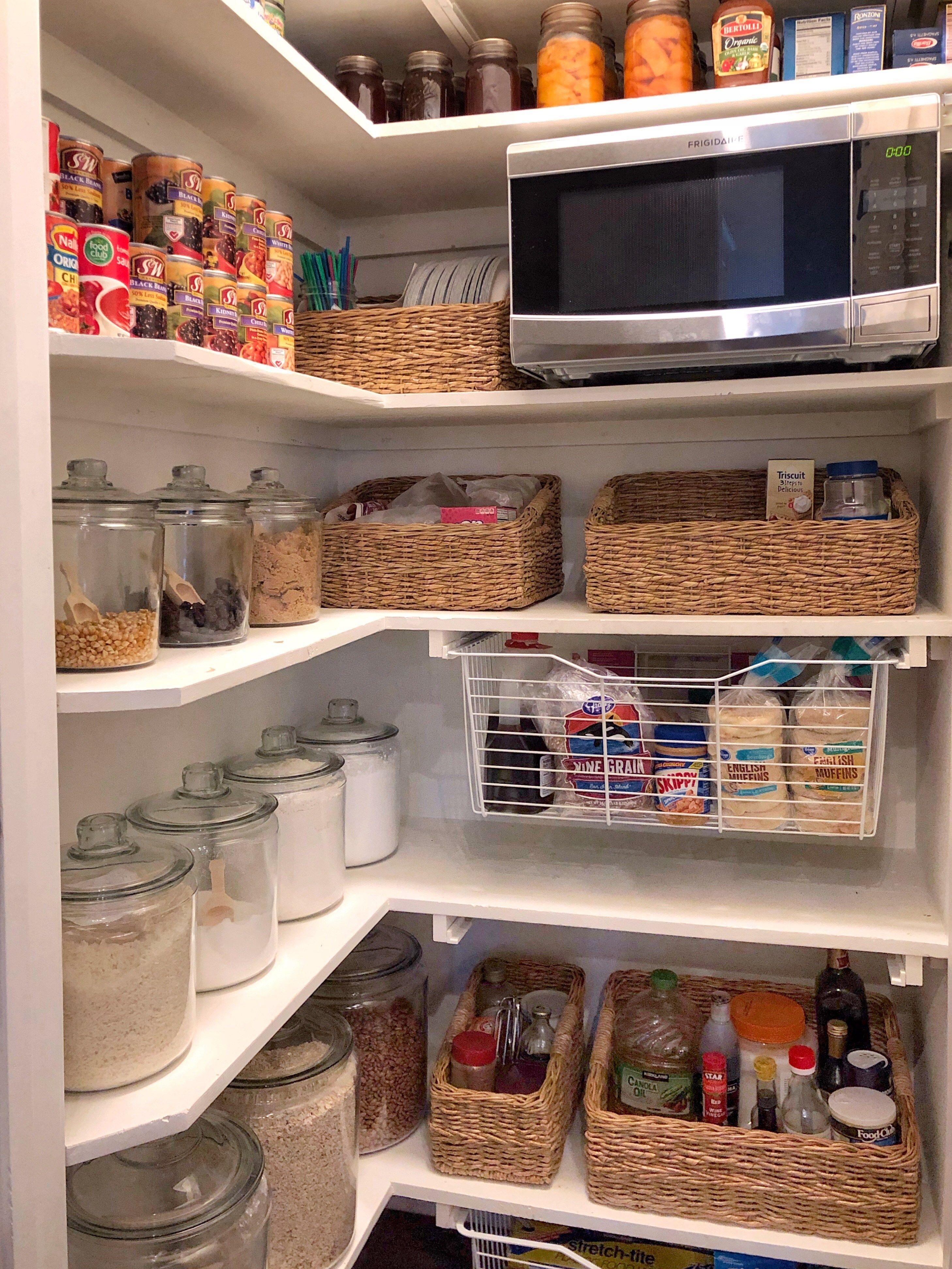 Pantry Organization Pantryorganizationideas Pantry Organization Cuisine Appartement Rangement Maison