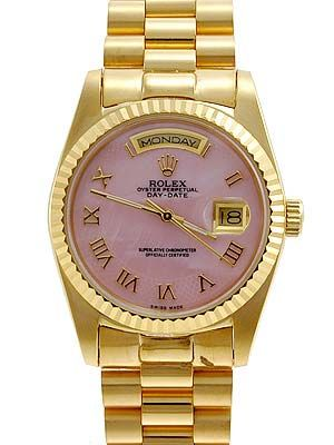 Rolex Gold Oyster Watch