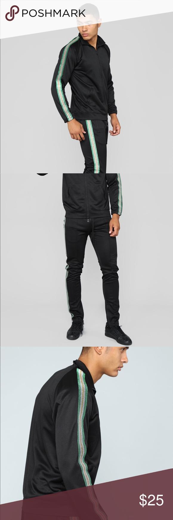 Bada Track Suit Set Includes Jacket And Pants Brand New Never Worn Tags On Fashion Nova Pants Sweatpants Joggers Tracksuit