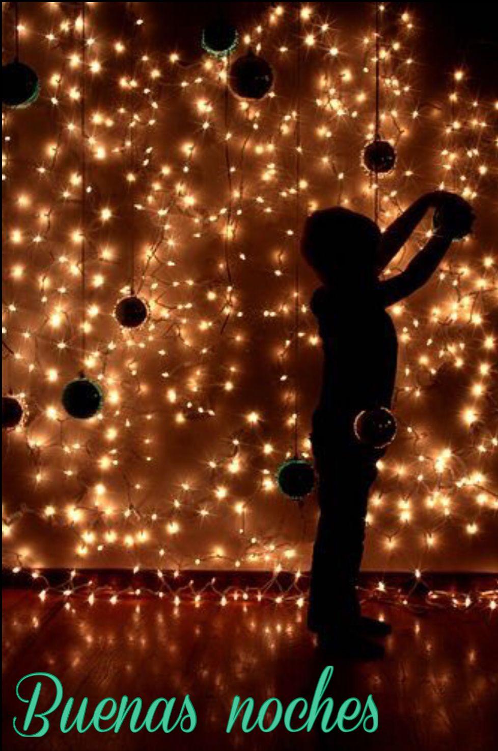 Buenas Noches Navidad Fotos Luces De Navidad Fotos Con Luces