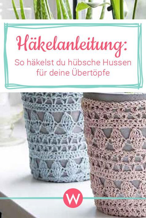 Instructions: Comment crocheter des couvertures décoratives | WUNDERWEIB   – Stricken /Häckeln