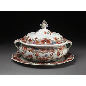 Coffeepot With Lid Made By The Doccia Porcelain Factory 1750 65