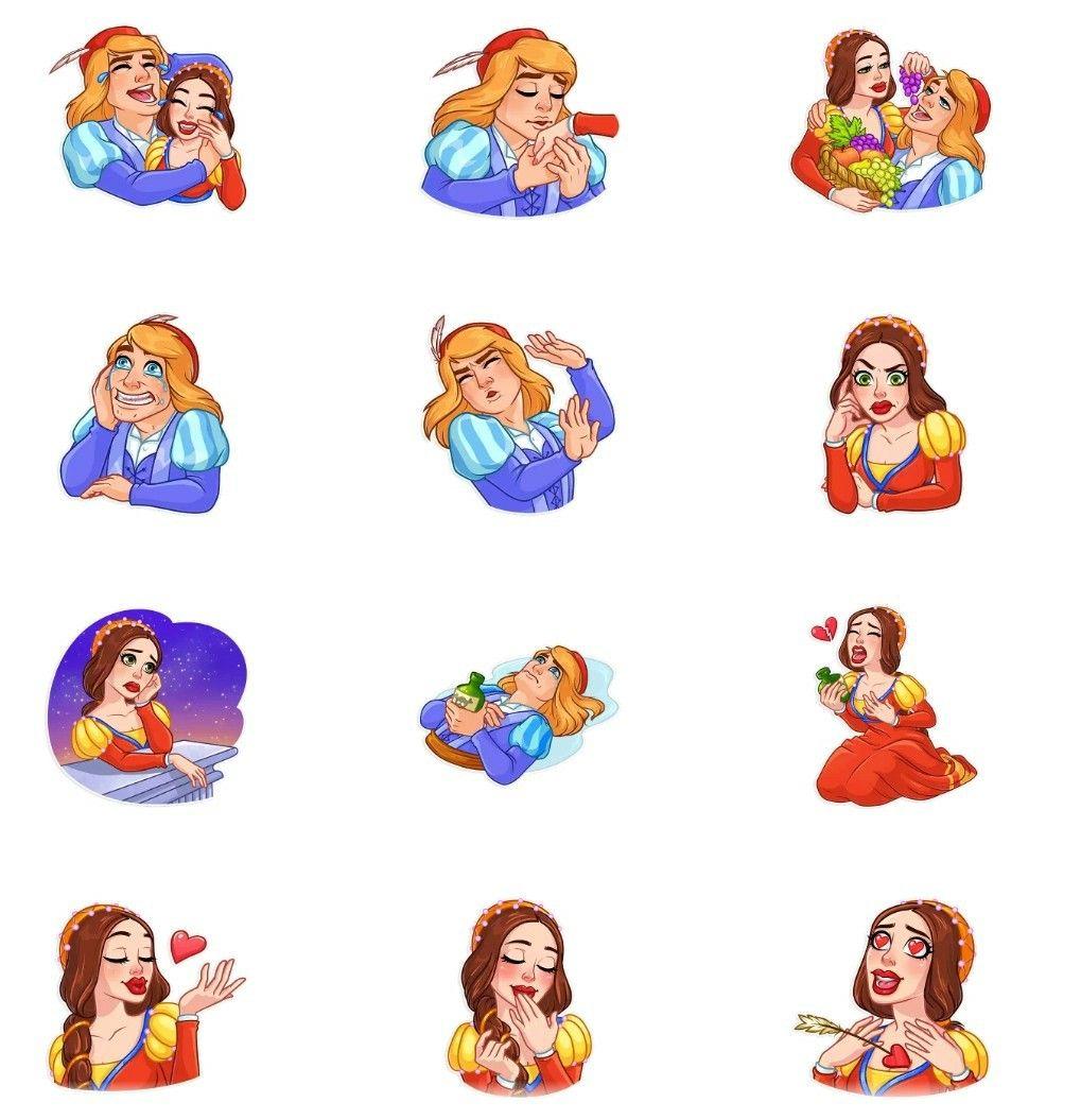 Romeo and Juliet WhatsApp sticker pack in 2020 Romeo and
