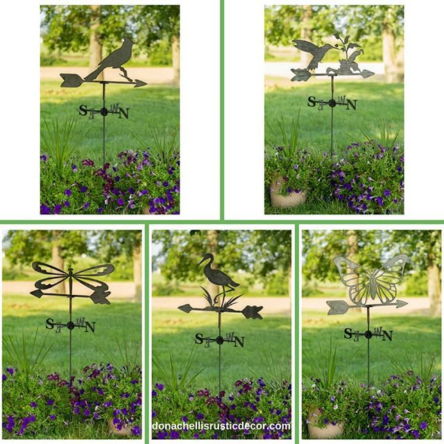 Itu0027s Weathervane Wednesday! Introducing Our Handcrafted Garden Weathervanes.  Today Weu0027re Featuring Our Flying Friends Weathervanes. Choose From A Cu2026
