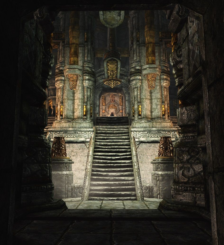 Understone Keep Fountains And Rubble At Skyrim Nexus