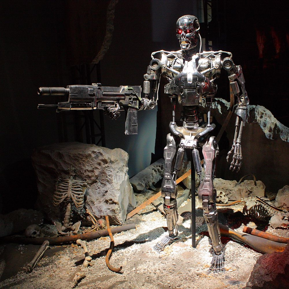 Terminator Robot Full Body Wallpaper Hd Click Download And You Save