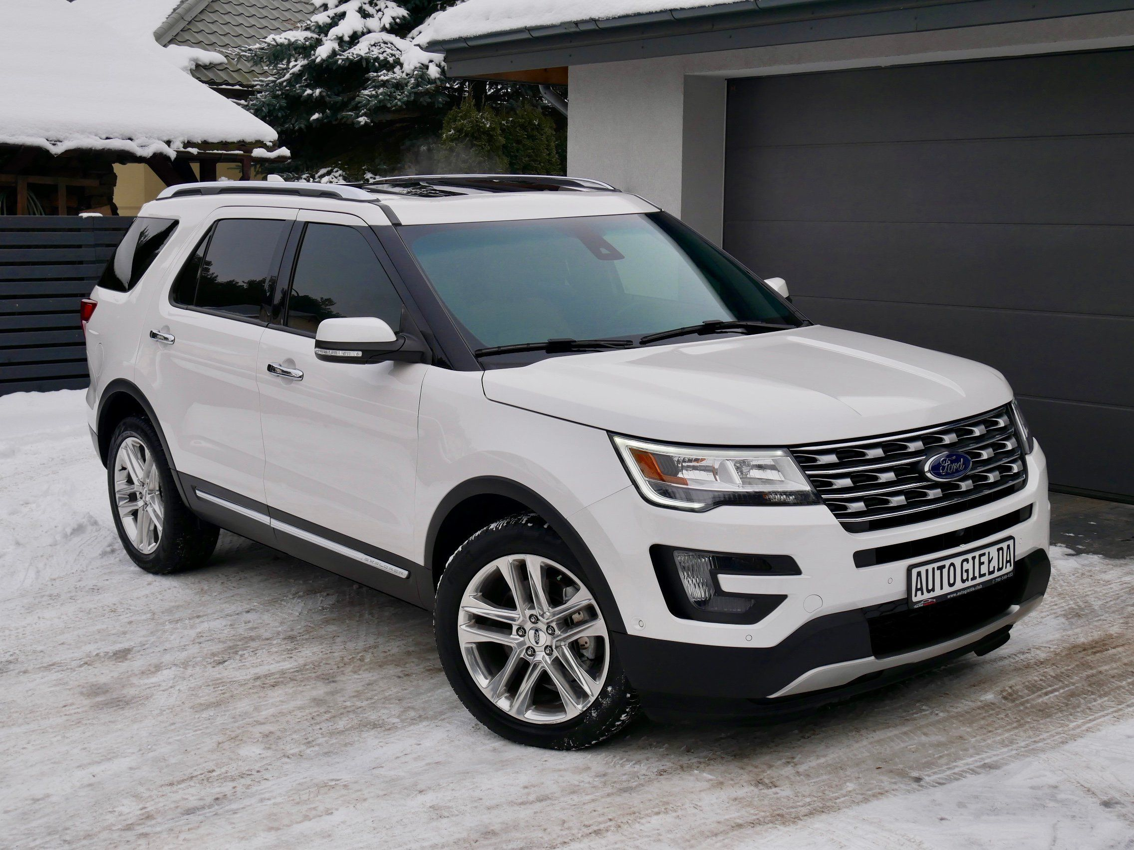 Ford Explorer Limited Panorama Pelna Opcja Ford Explorer Ford