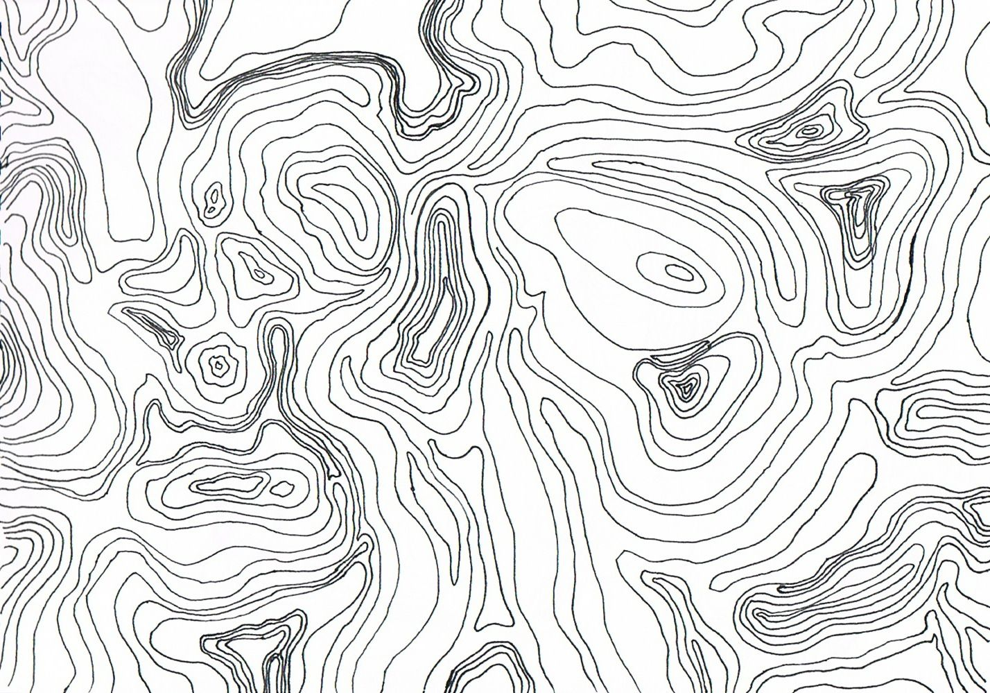 Contour Line Drawing Map : Topographic map art pinterest