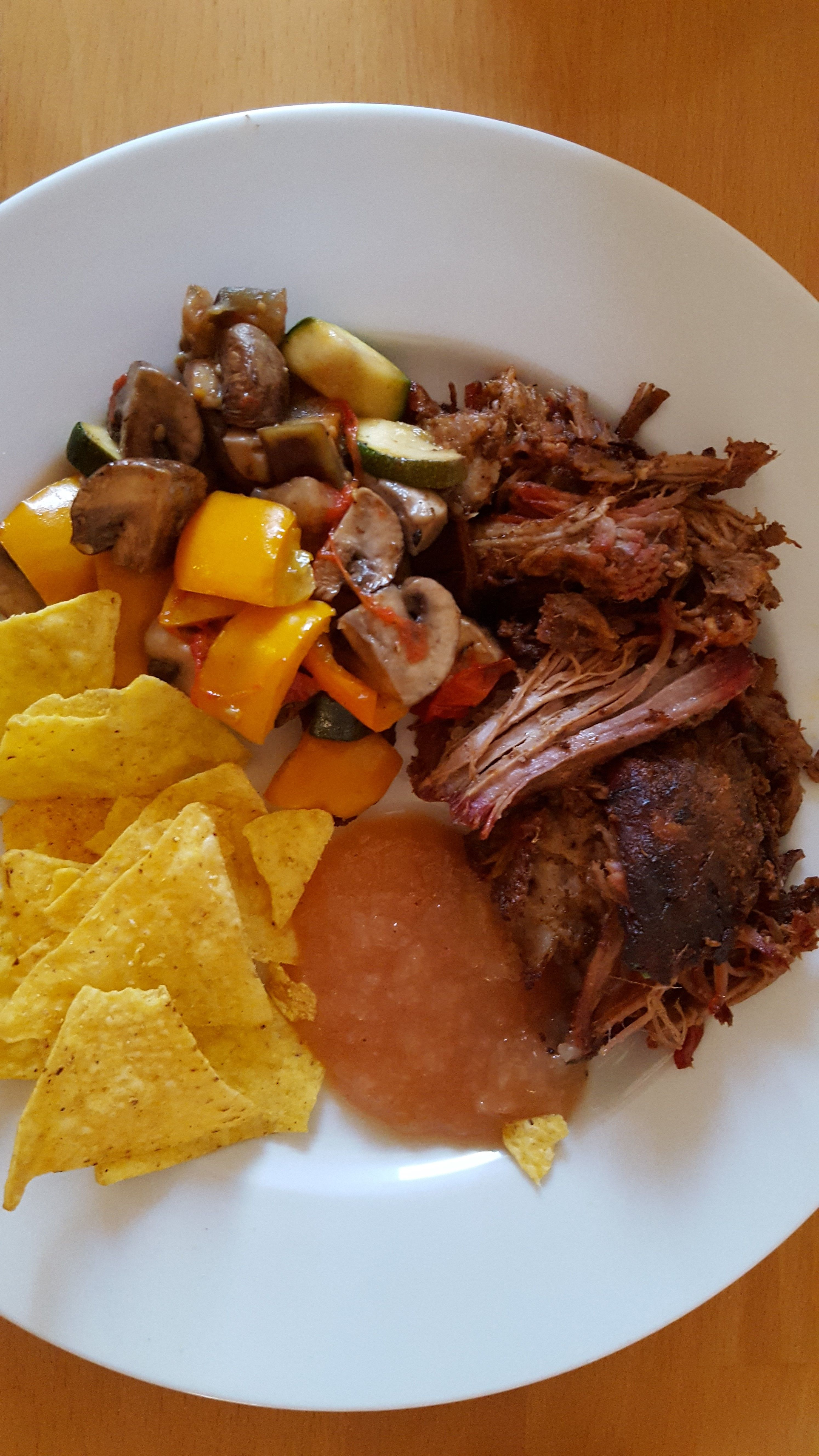 Pulled Pork - Tropical | Schwein, Bauchfleisch, Pulled pork