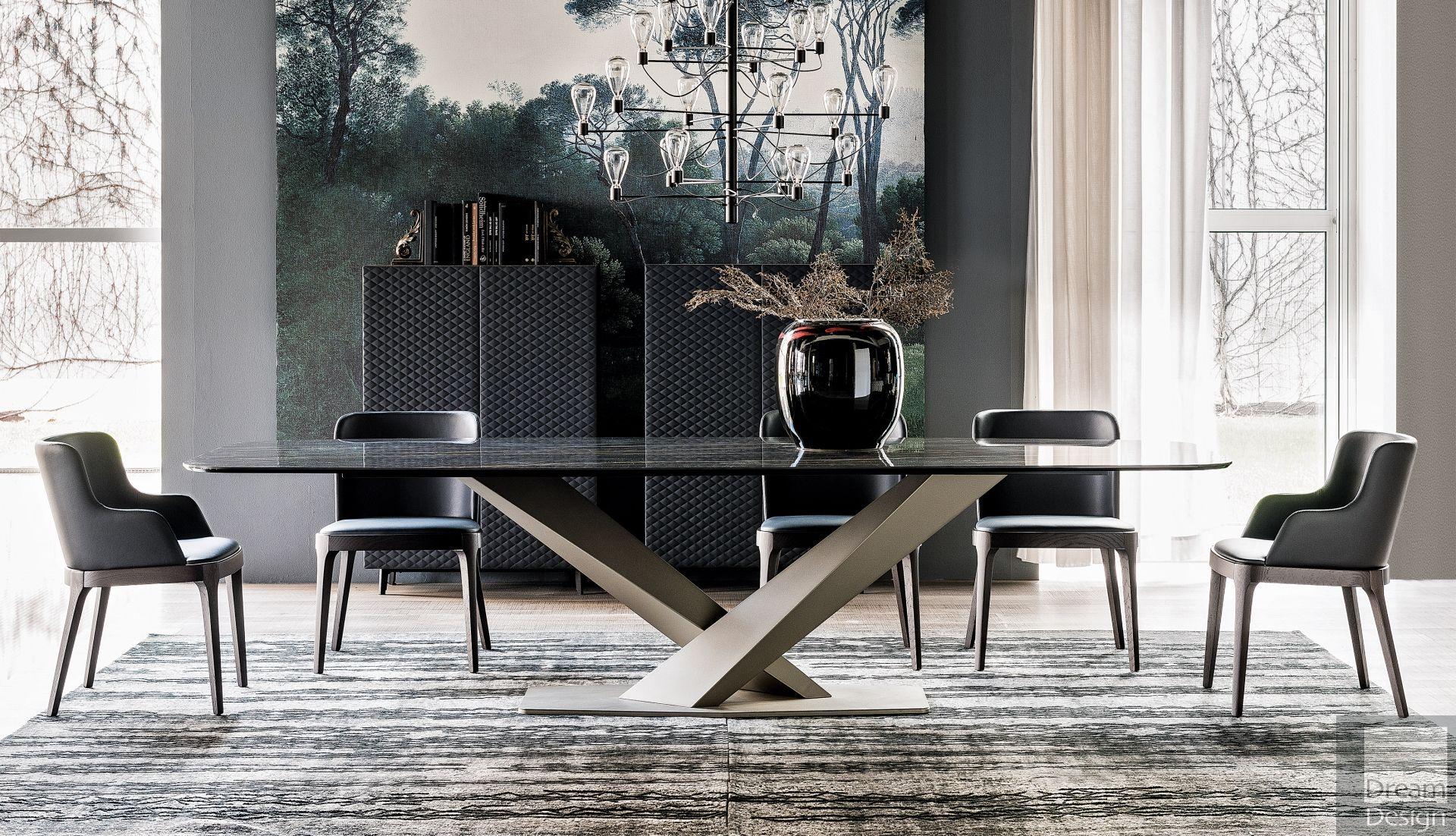 Cattelan Italia Stratos Keramik Table Luxury dining room
