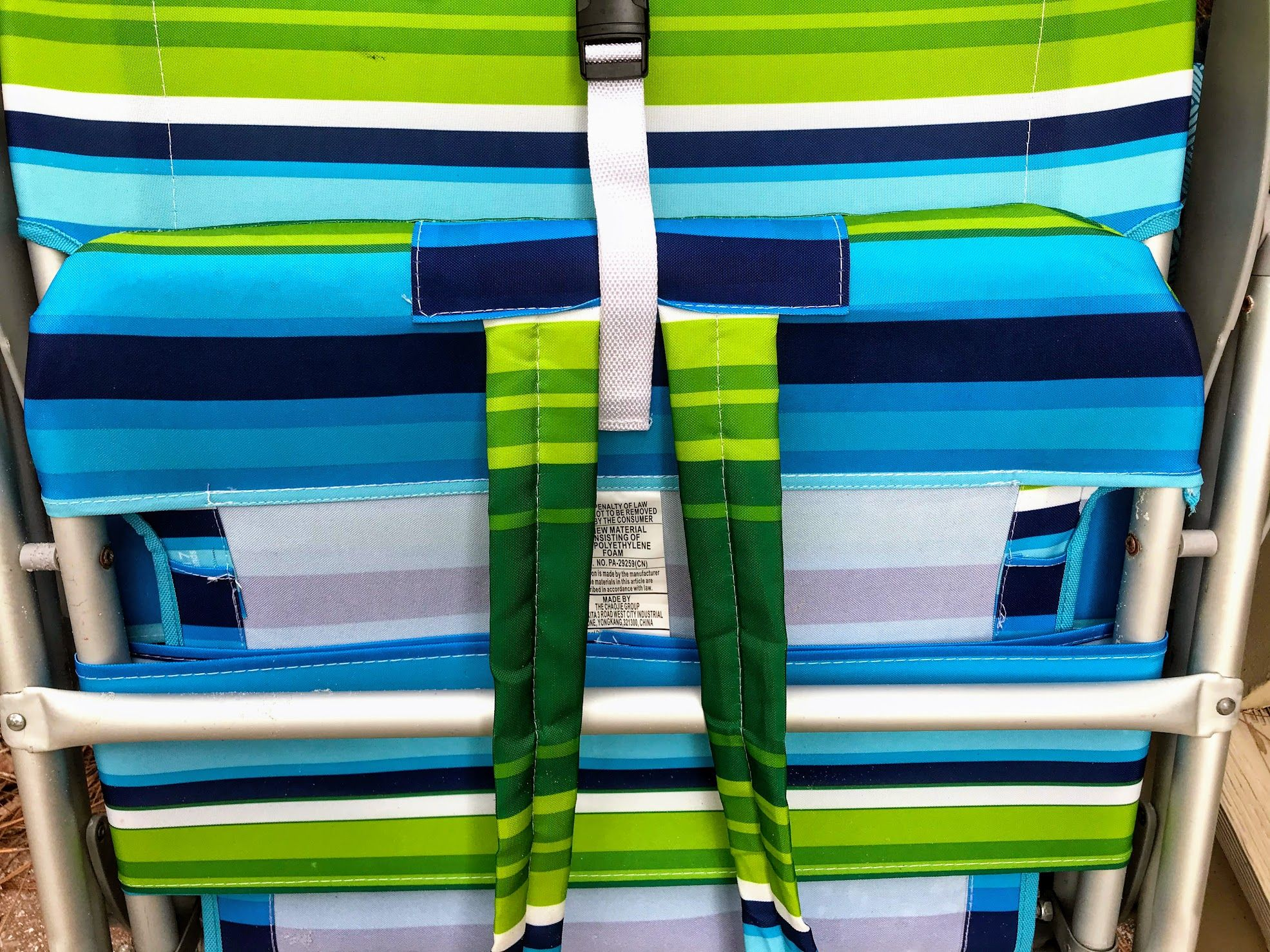 Backpack Beach Chairs with Padded Straps in 2020