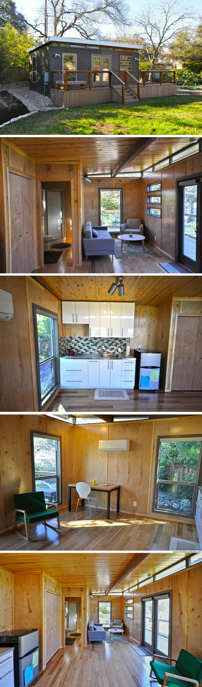 Modern Cabin (14' x 24') | Small/Tiny House & Apartments ... on