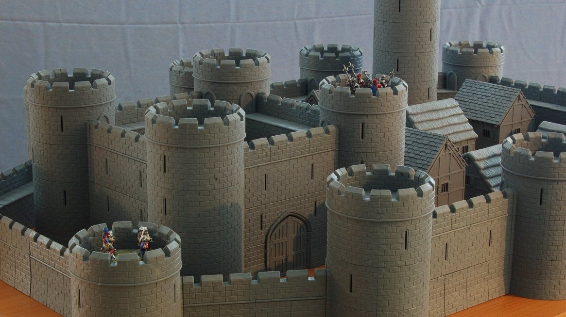 28mm Modular Castle Kits are now available to buy from the Tabletop