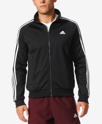 adidas Men's Essential Tricot Track Jacket NavyWhite 2XL