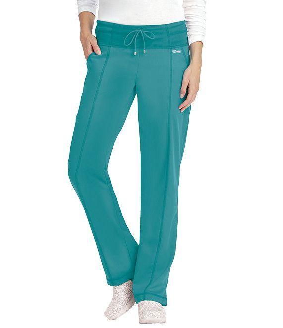 Grey S Anatomy Active Drawstring Yoga Knit Scrub Pants