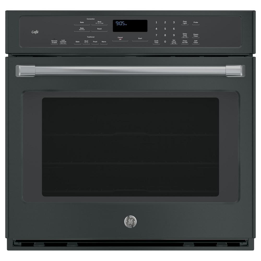 Cafe 30 In Single Electric Smart Wall Oven With Convection Self