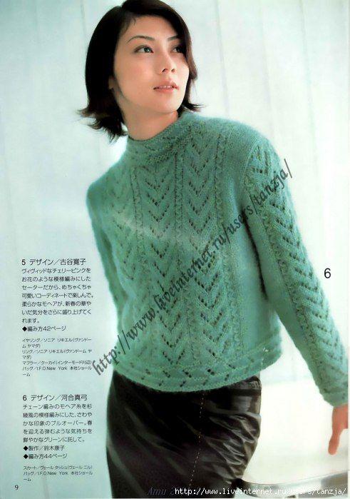 японские журналы по вязанию вяжем кофточки Knitting Projects