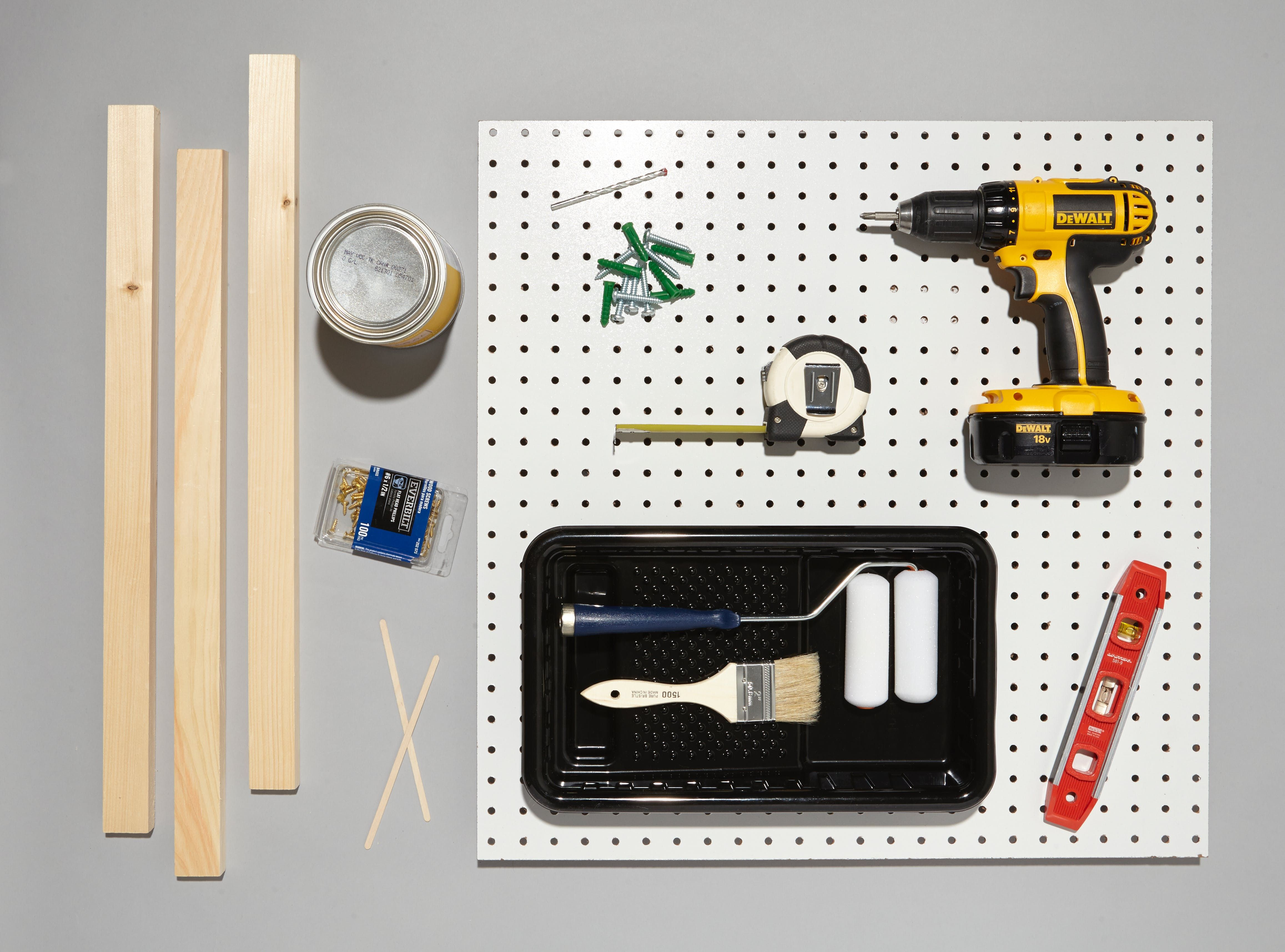 how to hang a kitchen pegboard recipe apartment nyc 201 pegboard storage kitchen. Black Bedroom Furniture Sets. Home Design Ideas
