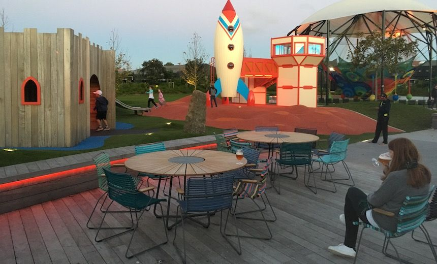 We review the entire country and culture of New Zealand, one thing at a time. Today: Duncan Greive discovers Whoa! Studios,a magical place where parents and their children can co-exist in equal happiness via playgrounds, beer and food. Taking your kids to restaurants basically sucks. They cry, t