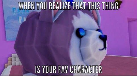 Hahahahahahaha I love this thing definitely my favorite character besides Aaron