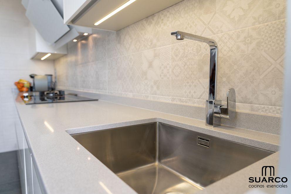 Fregadero Fregadero Bajo Encimera Cocinas Modernas Espacios Pequenos Fregaderos De Cocina