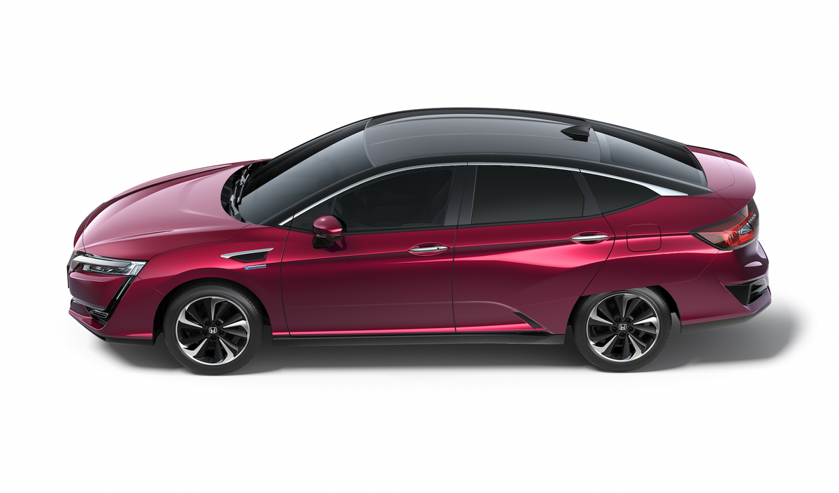 Honda honda clarity side