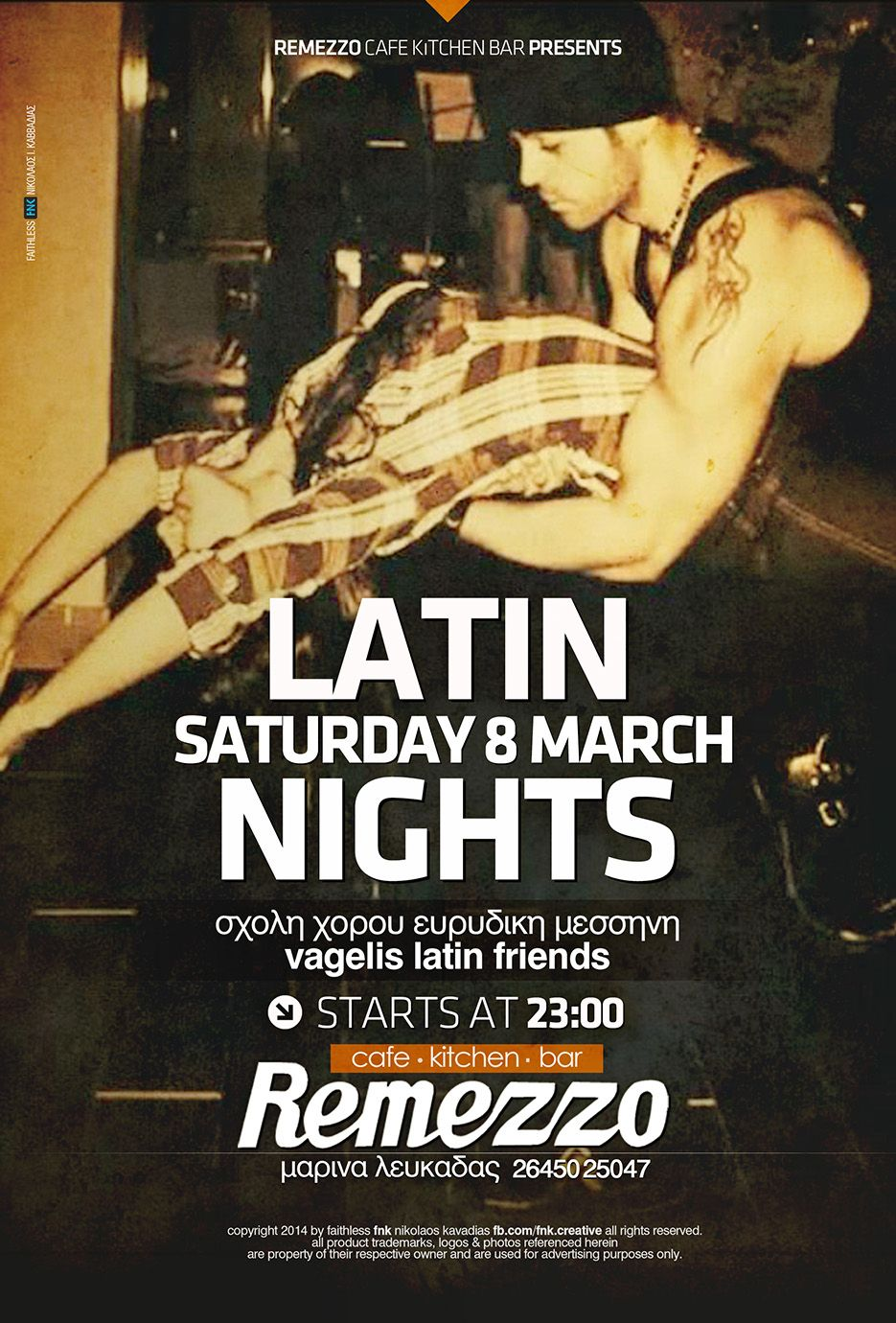 latin nights event poster http://fb.com/fnk.creative | FNK: Event ... for Creative Event Posters  34eri