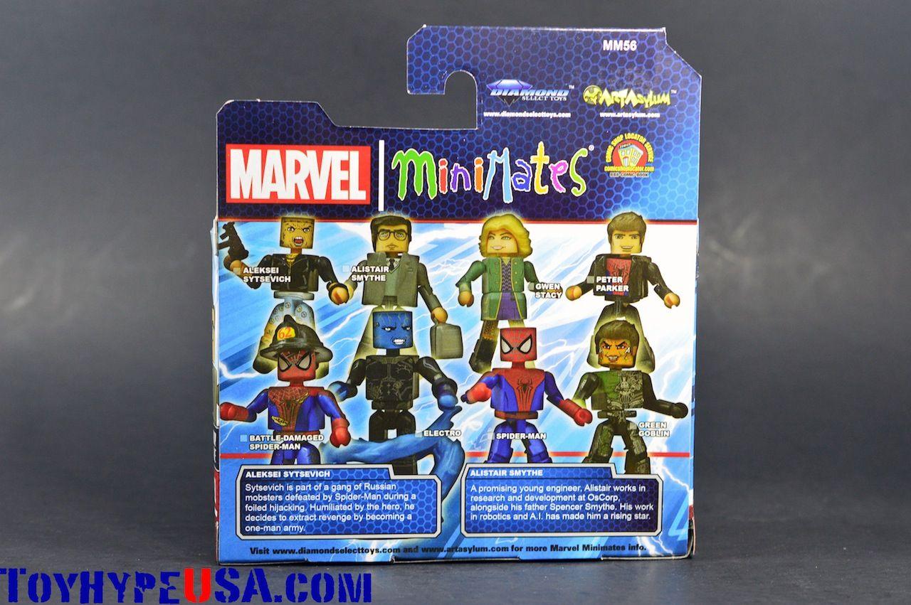 DIAMOND SELECT TOYS Marvel Minimates Series 56 Mini-Figure Alistair Smythe with Aleksei Sytsevich