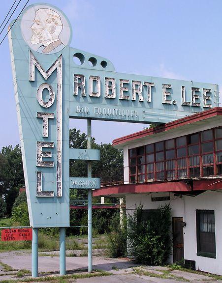 The robert e lee motel between abingdon and bristol va for Motel le bic
