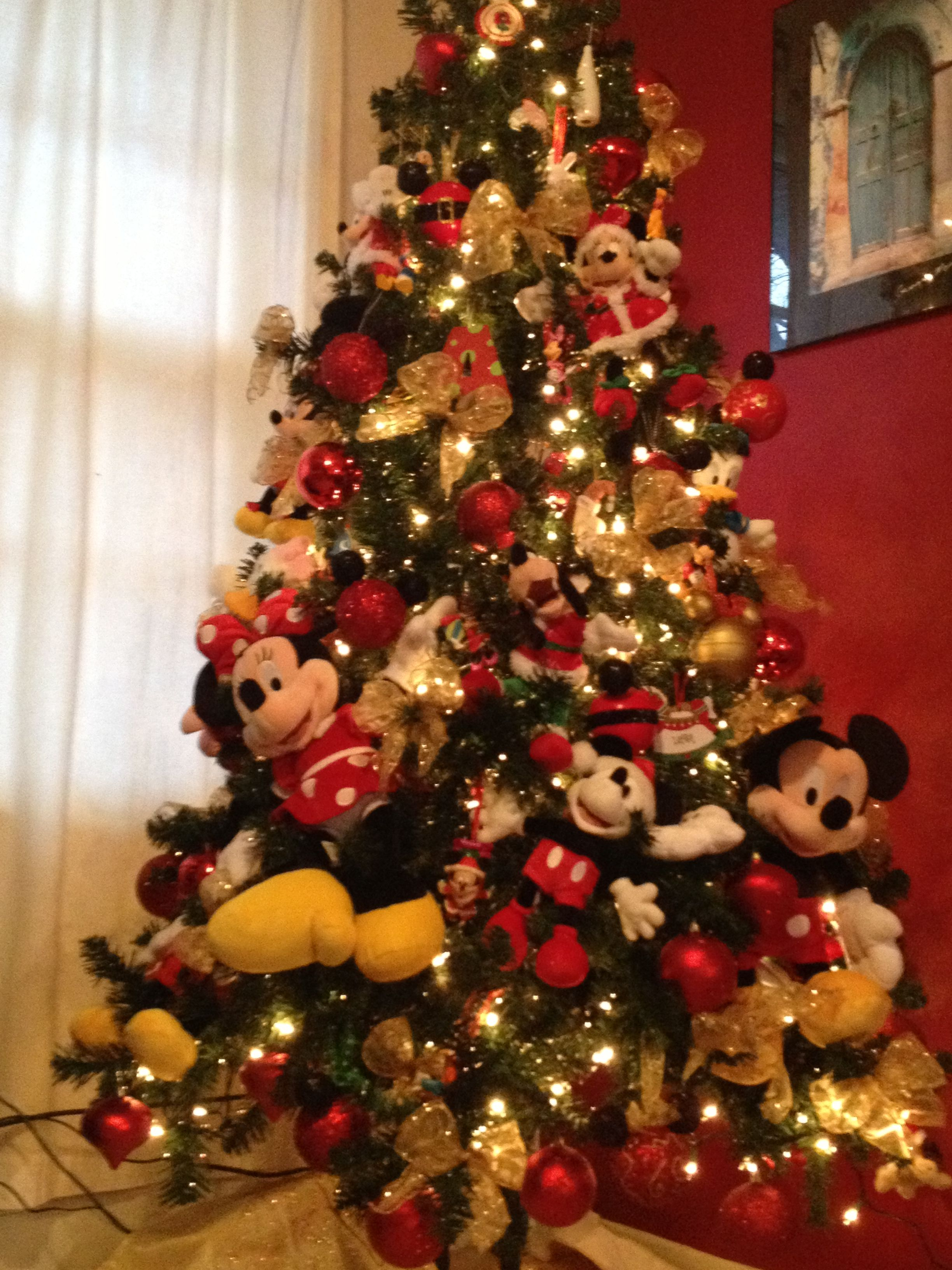 Mickey Mouse and friends christmas tree | Everything ...