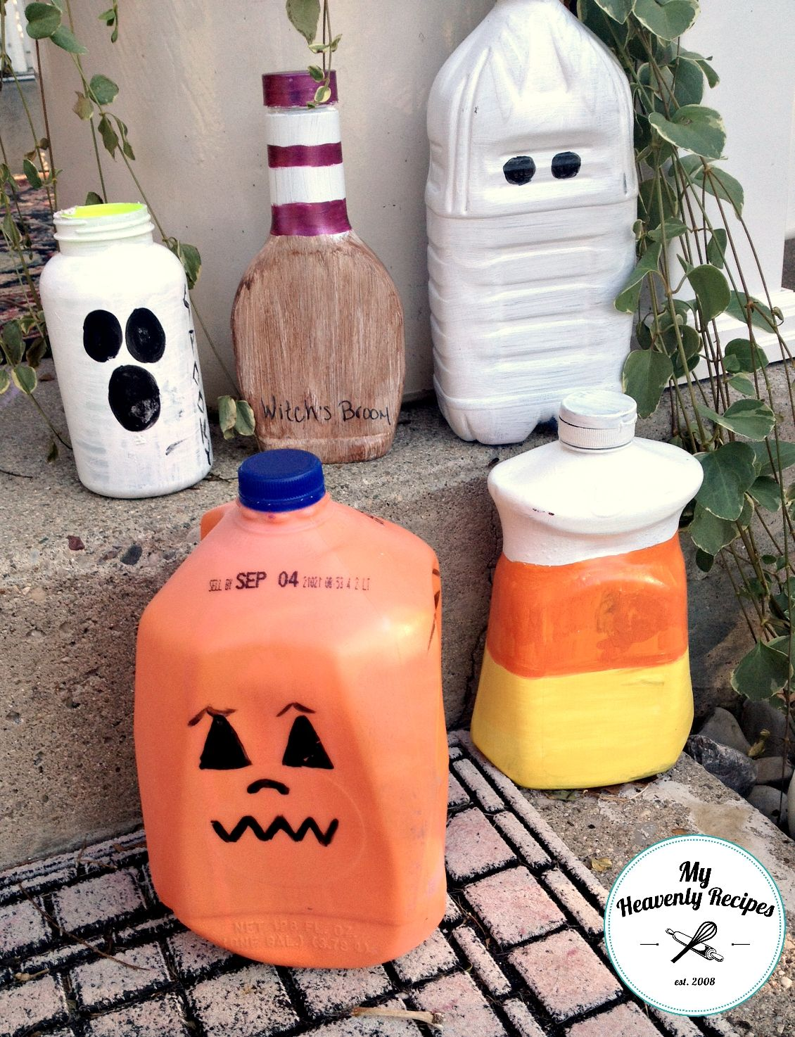 DIY Halloween Decorations Made From Plastic Jugs Kid, Halloween - Kids Halloween Decorations
