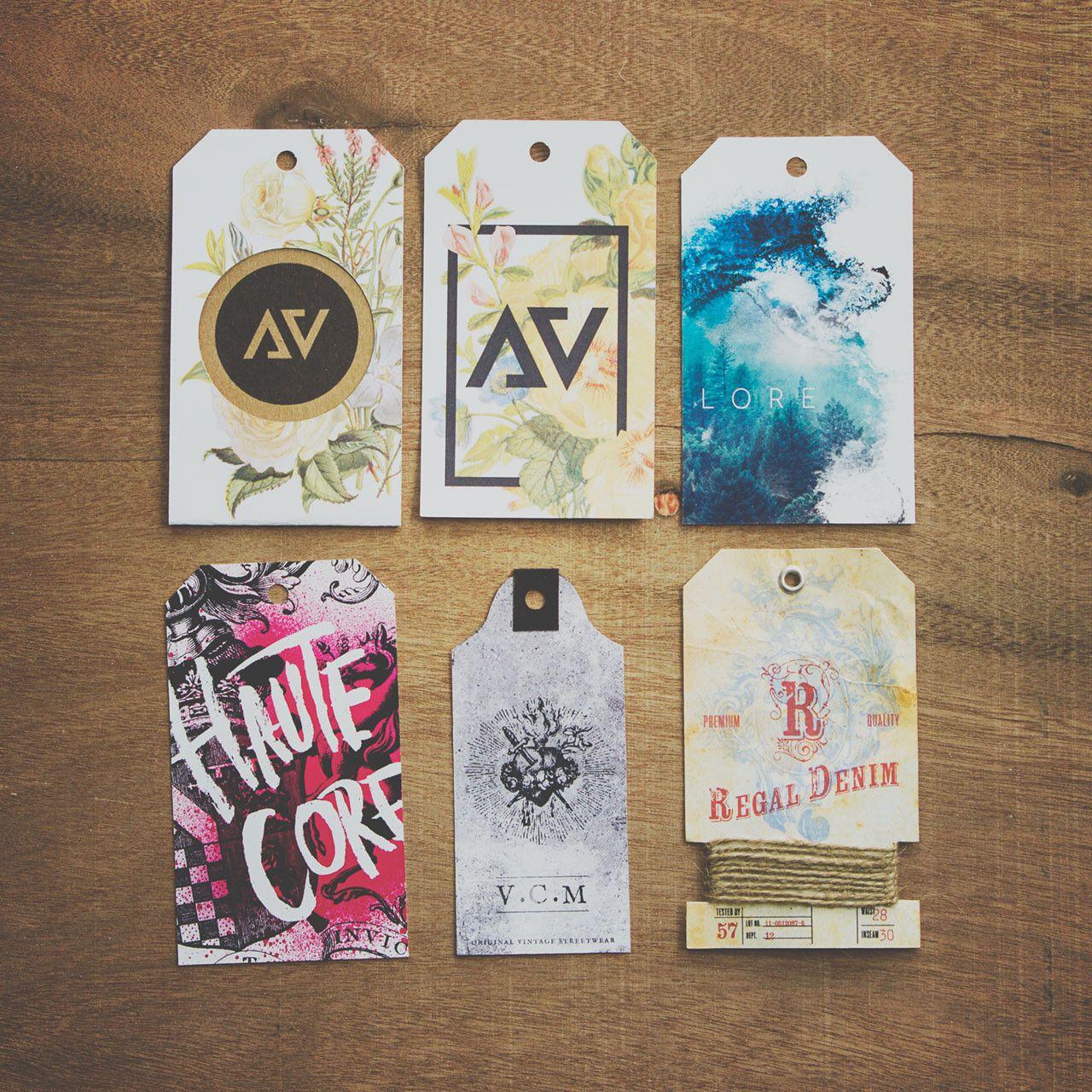Fashion Apparel Hang Tags by liquidcomet - 74584