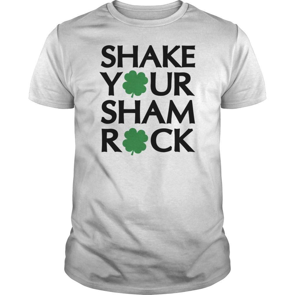Show your Shake Your Shamrock shirt - Wear it Proud, Wear it Loud!