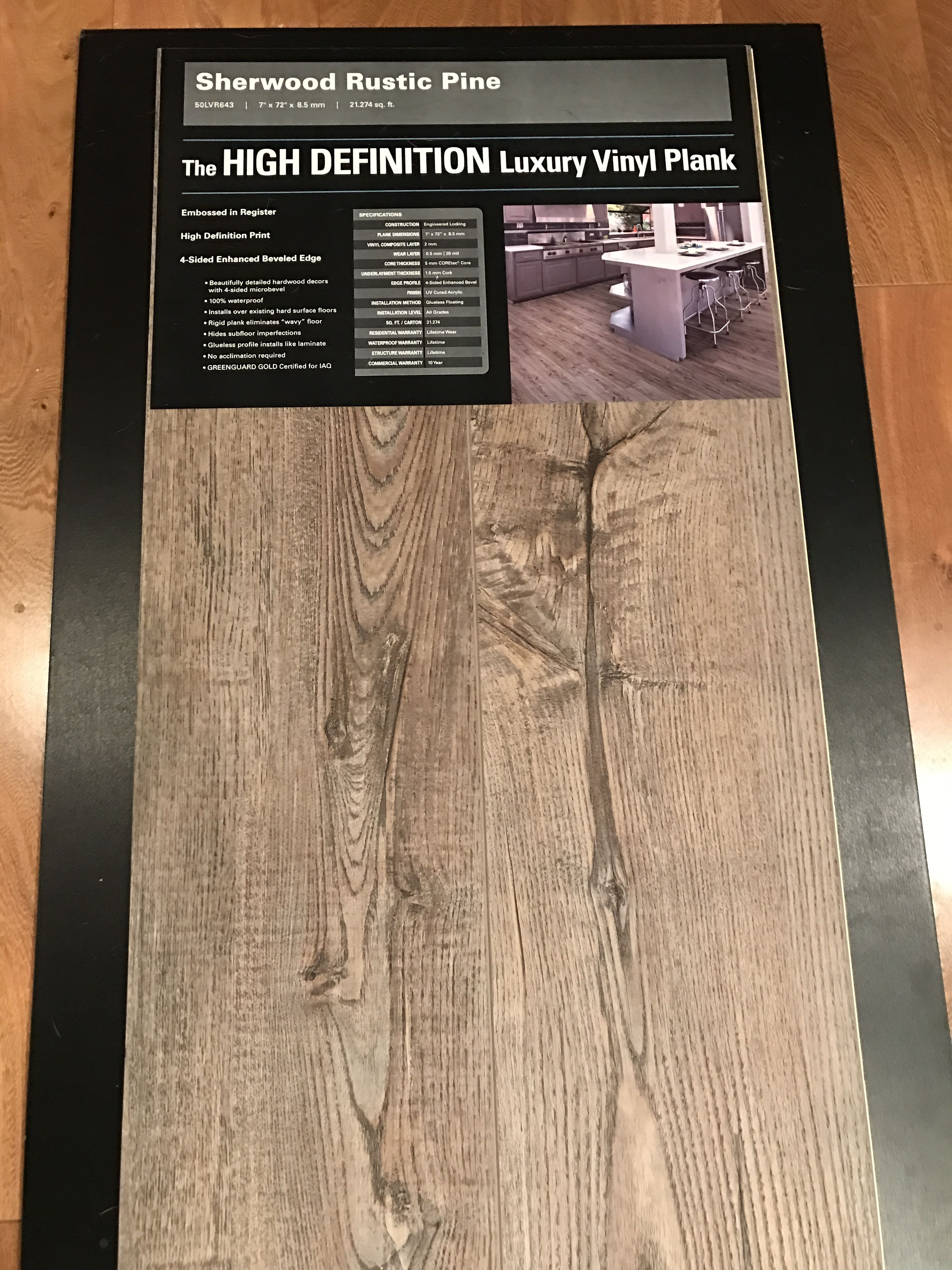 Sherwood Rustic Pine Vinyl Flooring Rustic Home Design
