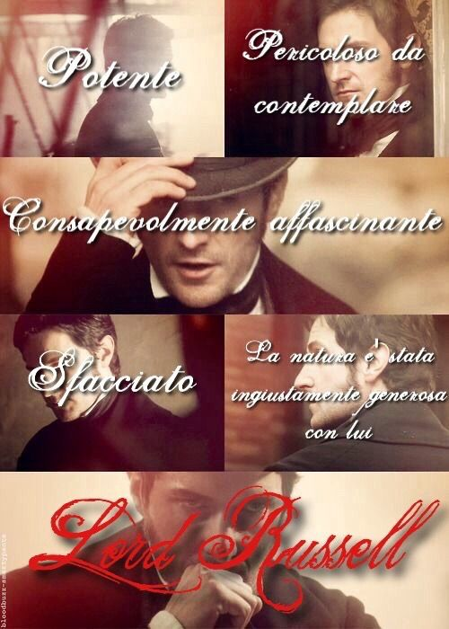 #IlPattoDelMarchese main character #LordRussell