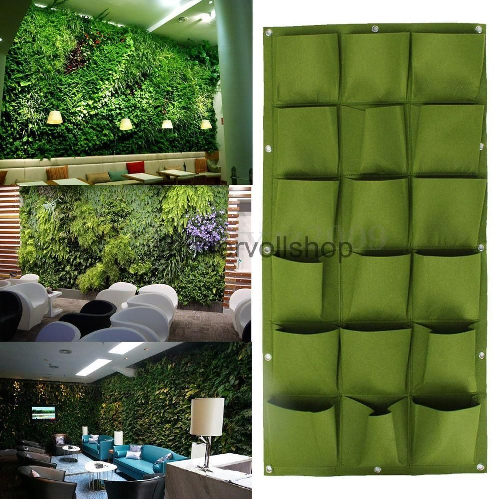 neu pflanzen tasche wand pflanztasche pflanzbeutel pflanzsack, Gartengerate ideen
