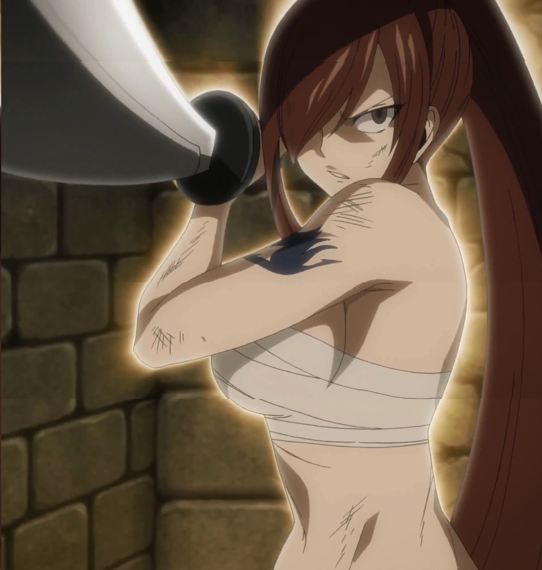 Fairy Tail, Fairy Tail 2014, episode 66, erza scarlet, titania, Uploaded by: Stella Scarlet Segui