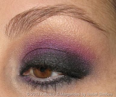 MUFE Aqua Shadow Matte Black and Too Faced French & Fabulous