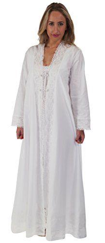 The 1 for U 100% Cotton Housecoat / Bathrobe - Rosalind (XL)