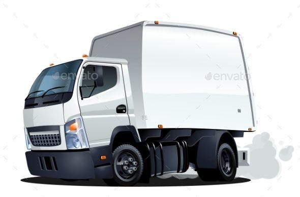 Delivery Truck Carlos Pereira Desenhos