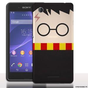 Coque xperia E3 Fun Harry Potter - Accessoire de protection téléphone Sony