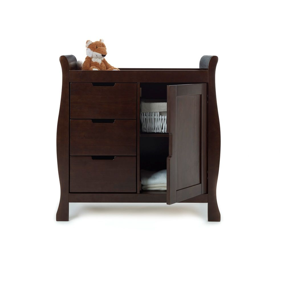 220 Lincoln Dresser Baby Changing Unit In Walnut