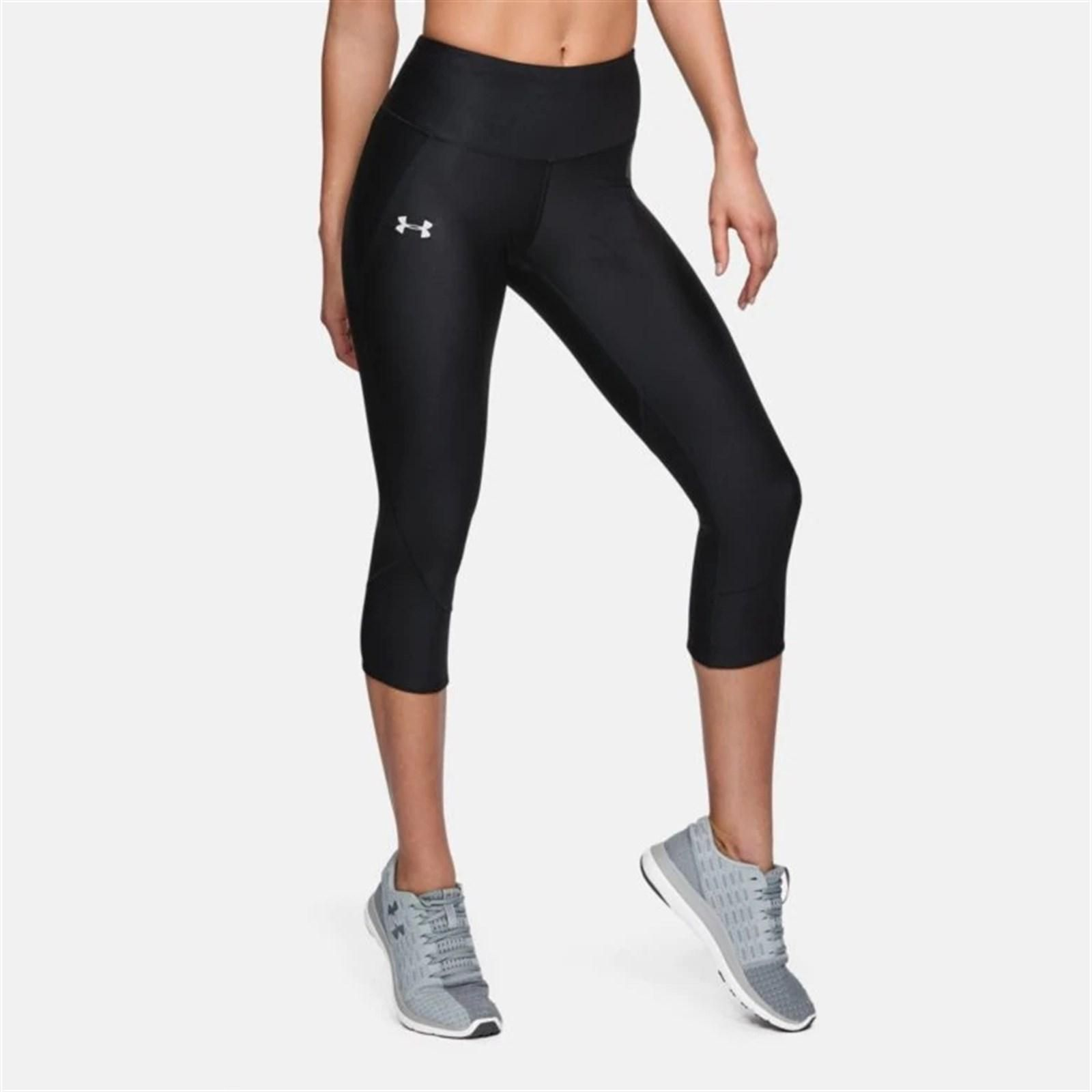 2019 Under Armour Ladies Fly Fast Crop Leggings UA Gym Training Sports Pants