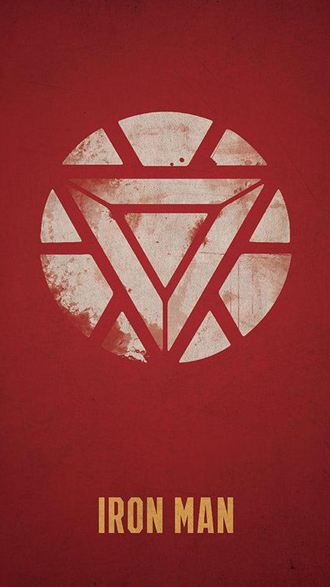 アイアンマン シンプルなポスター マーベル 壁紙