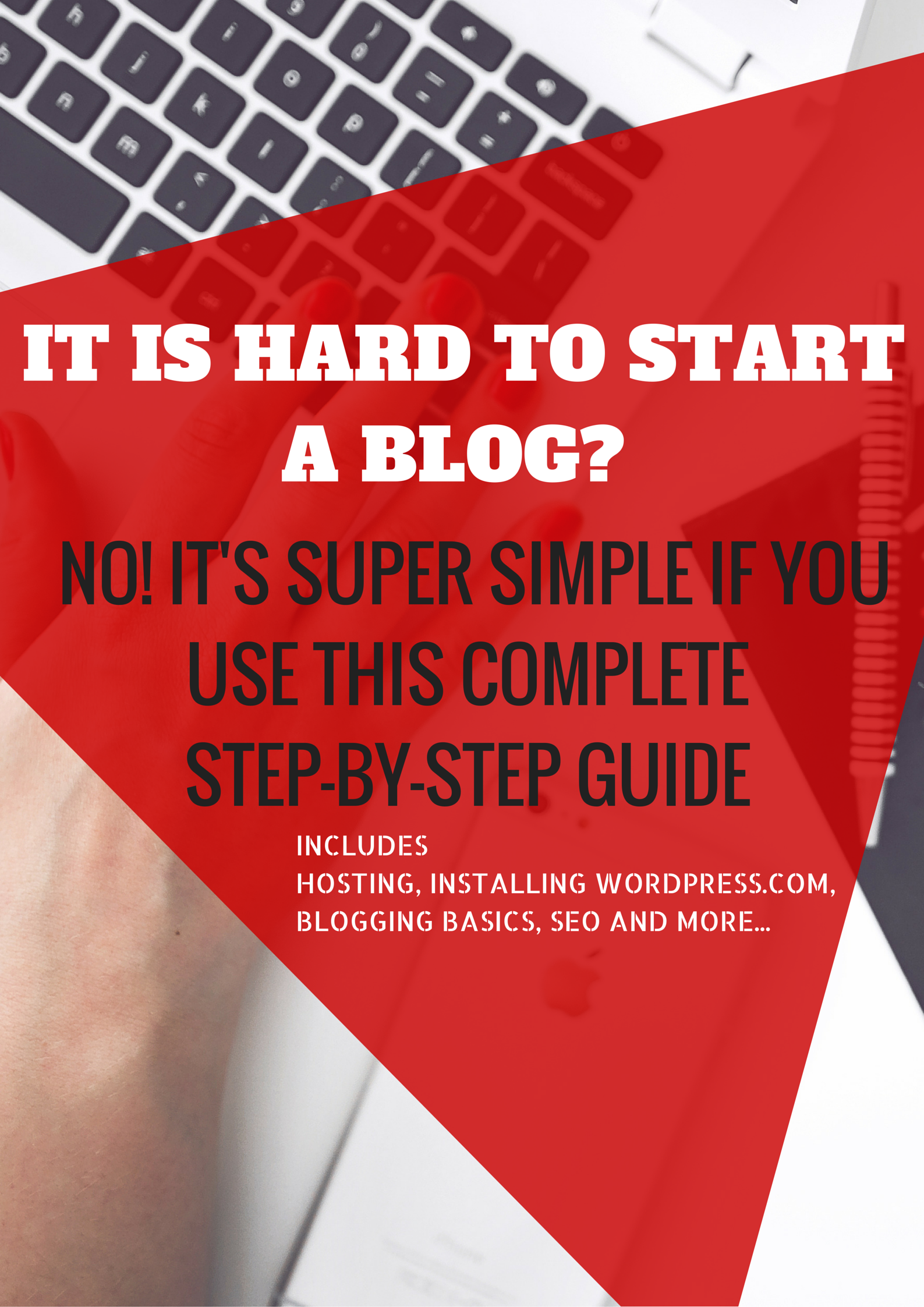 how to start a blog: Complete guide to starting a blog.