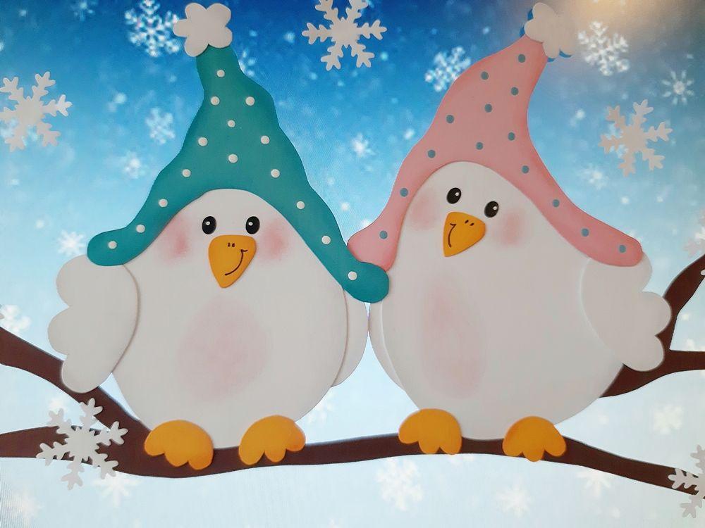 Diese zauberhaften Wintervögel sorgen auch an grauen ...