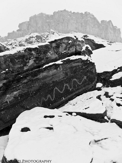 Saturday, February 19, 2011 Bright and early Saturday morning, Amanda and I got up and headed west to the San Rafael Swell. We knew it was probably going to snow on us, but we didn't realize just h…