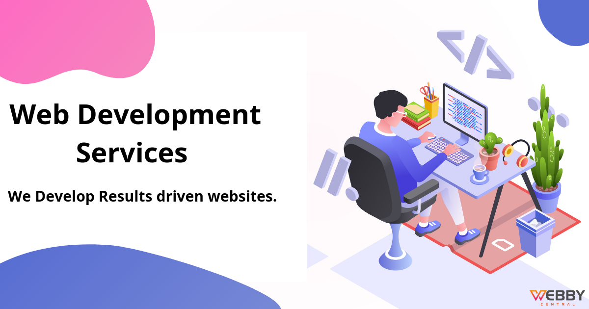 At Webby Central We Build Stunning Websites That Are Designed To Accomplish Your Goals And Empower Website Development Company Development Website Development